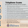 Advice on telephone scams